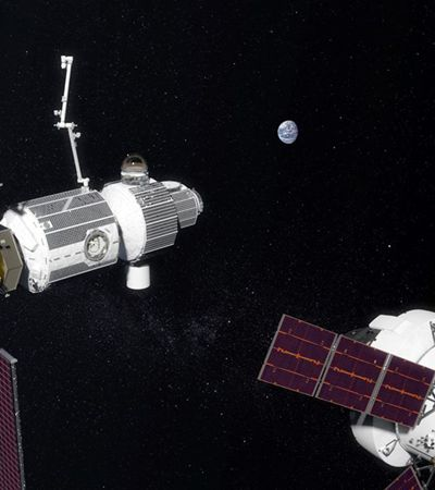 Nasa terá base fixa na órbita da Lua em 6 anos. E deve partir de lá para Marte