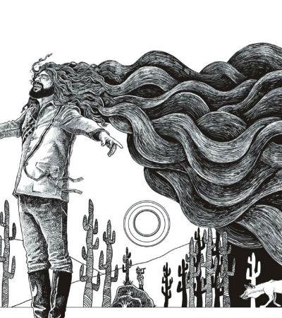A história de Alceu Valença contada em quadrinhos