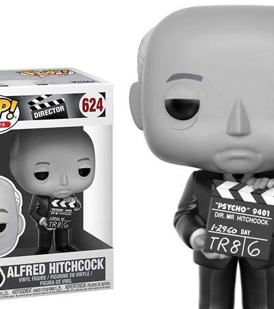 HitchPop: Funko estréia linha de diretores de cinema com boneco de Hitchcock