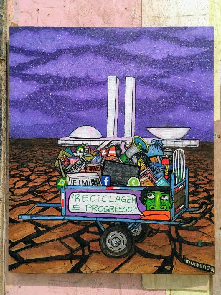 Só Brasilia não se recicla..