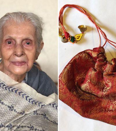 Vovó de 89 anos cria site e vendas das bolsas que ela cria bombam