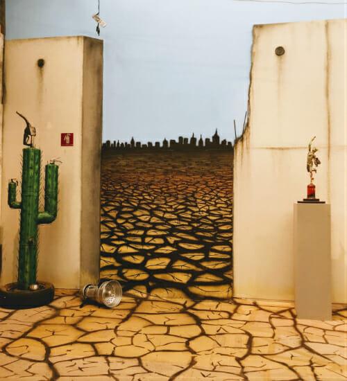 Crise hídrica é mais uma vez tema forte na mostra