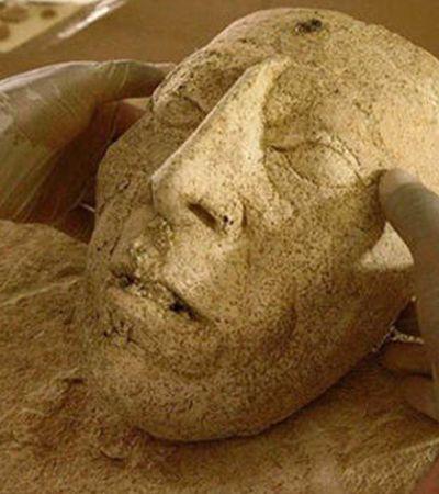 Máscara do rei mais longevo da civilização maia do século 7 é achada no México