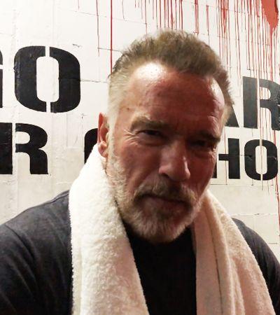 Schwarzenegger envia mensagem para fã que sofre de depressão e lhe pediu ajuda