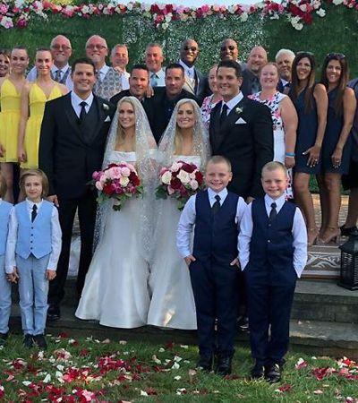 Gêmeos se casam com gêmeas no Dia dos Gêmeos e a cerimônia vai te deixar confuso
