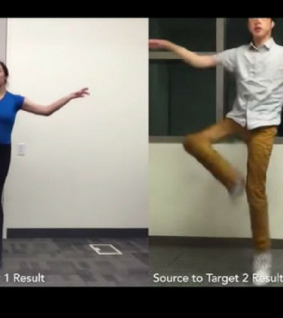 A inteligência artificial que te transforma num dançarino profissional