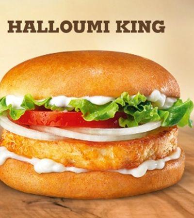 Burger King lança sanduíche com queijo frito no lugar da carne