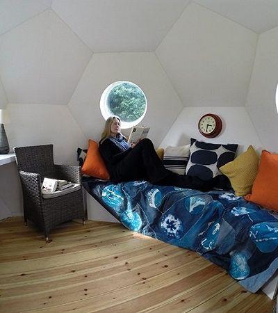 Por que estas casas minúsculas e esféricas podem ser o futuro da habitação