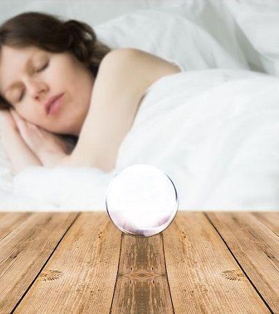 Não é magia, é tecnologia: bola de cristal promete acabar de vez com a insônia