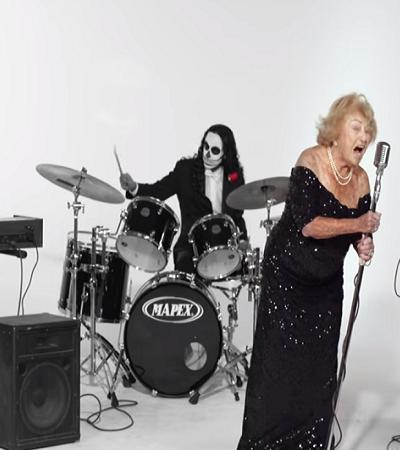 Ela sobreviveu ao holocausto e aos 96 é vocalista de uma banda de death metal