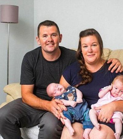 Mãe dá à luz a gêmeos gerados em dois ventres diferentes. Feito tem uma chance para 500 milhões de tentativas