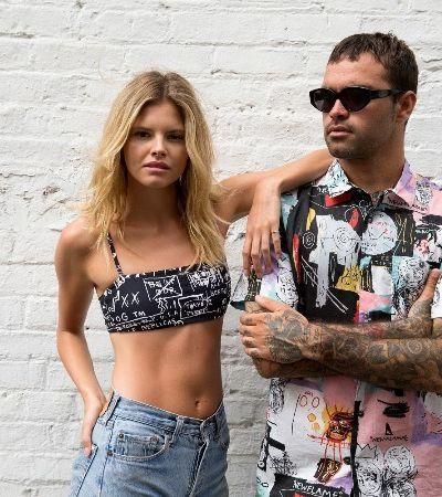 De camisetas a biquínis: Andy Warhol e Basquiat viram coleção de praia da Billabong
