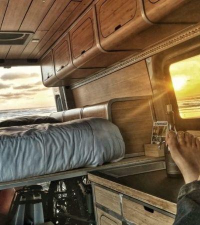 Kit 'Faça Você Mesmo' transforma qualquer van em casa sobre rodas