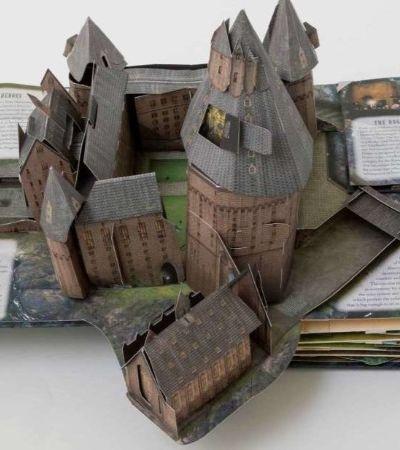 Novo livro 3D de 'Harry Potter' que faz você explorar Hogwarts ganha data de lançamento