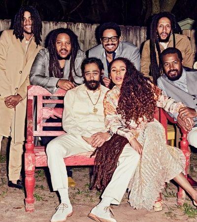 Quando os filhos e netos de Bob Marley se reuniram para um retrato pela primeira vez em uma década