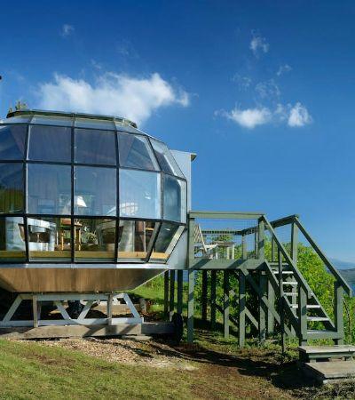 O incrível conceito de casa-submarino das Terras Altas da Escócia