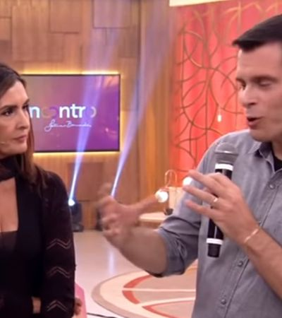 Fátima Bernardes rebate machismo de convidado no 'Encontro'
