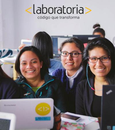 'Laboratória' forma programadoras que refinanciam o programa depois de empregadas