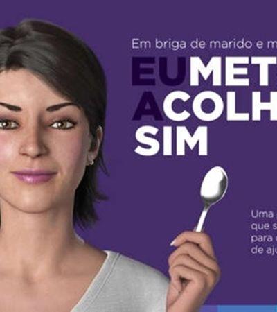 No Dia da Maria da Penha, Magazine Luiza incentivou a meter a colher