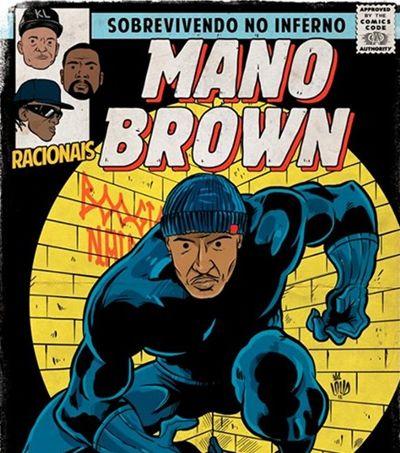 Mano Brown se torna Pantera Negra em série de rappers e HQs