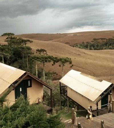 Rolê rural: como é passar a noite em um camping de luxo