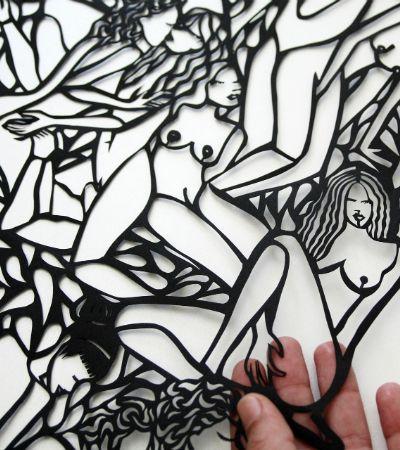 13 artistas que trabalham técnica milenar e delicada de cortes em papel