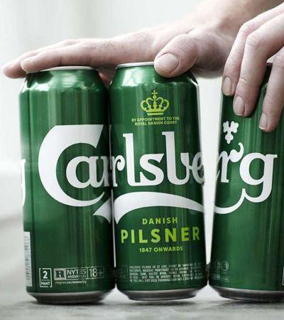 6 pack do bem: Carlsberg substitui plástico em embalagens por cola ecológica