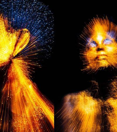 'I'm The Light': Brasileiro faz exposição em NY com fotos em que humanos são pura luz