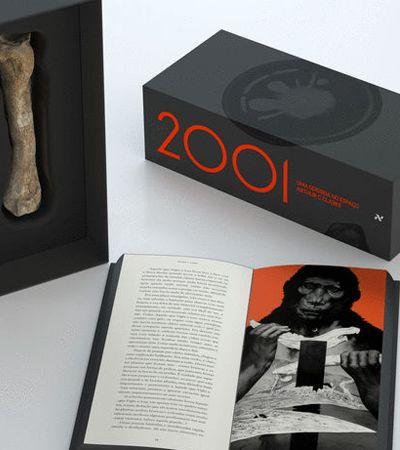 Livro '2001 – Uma Odisseia no Espaço' ganha versão maravilhosa para comemorar 50 anos