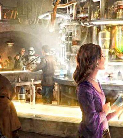 Bar de 'Star Wars' será o primeiro oferecer bebidas alcoólicas dentro da Disney