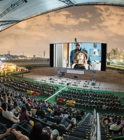 Open Air leva cinema ao ar livre, shows e gastronomia ao Jockey Club