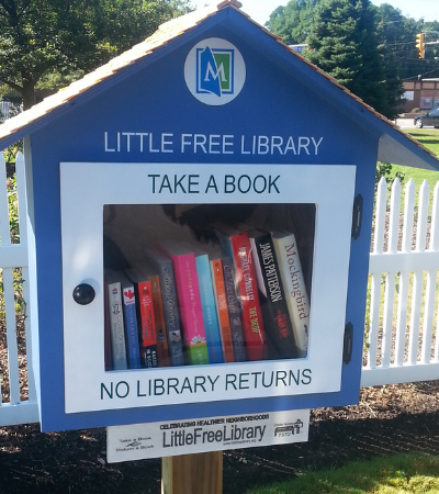 Existem 75 mil bibliotecas livres pelo mundo e isso é importante e maravilhoso