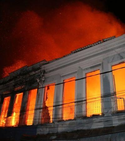 Incêndios invisíveis: Museu Nacional não foi único monumento que queimou esta semana