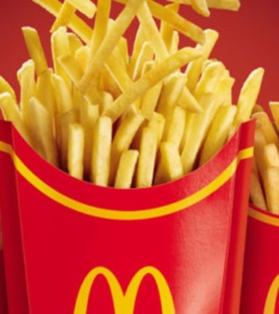 Cliente garante ter encontrado agulha em batata frita do McDonald's