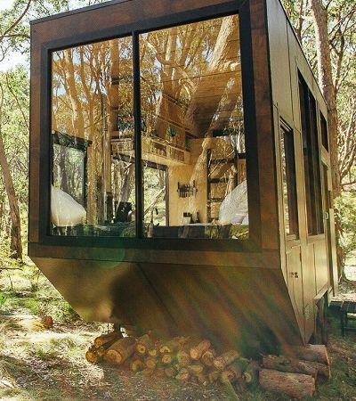 Esta cabana foi especialmente pensada para te ajudar a desconectar