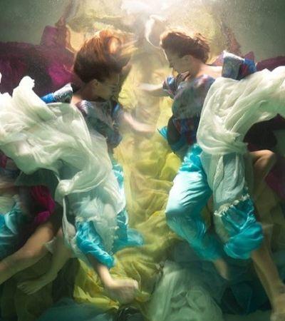 Essas fotos submersas mais parecem pinturas barrocas