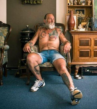 Idosos provam que você não precisa se preocupar com as tattoos quando envelhecer