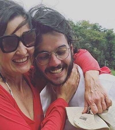"""Fátima Bernardes fala sobre namoro à distância: """"a gente não sabe por quanto tempo isso será viável"""""""