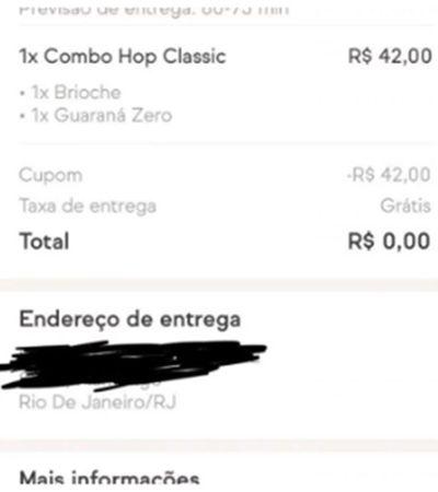 Bug no cupom de desconto gera caos no iFood e restaurantes recebem pedidos gratuitos