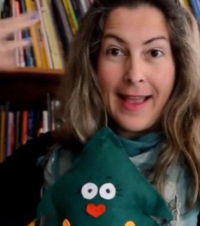 Professora cria canal no Youtube para contar histórias infantis em Libras