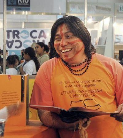 Escritor indígena recebe prêmio de literatura infantojuvenil