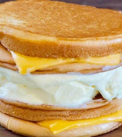 Hamburgueria renova conceito de food porn ao lançar pão com queijo e sorvete