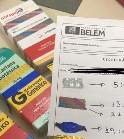 Estudante de medicina emociona com receita adaptada para paciente analfabeto