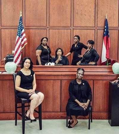 As mulheres estão fazendo história no judiciário deste estado norte-americano