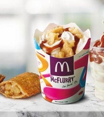 McDonald's une o útil ao agradável em novo McFlurry