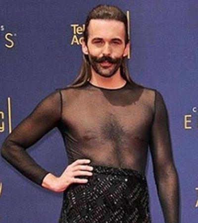Apresentador de 'Queer Eye' acaba com padrão de gênero com look bombástico