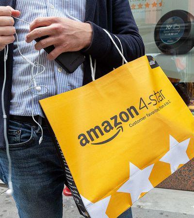 Amazon ganha loja para produtos com melhores avaliações dos clientes