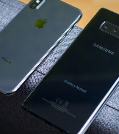 Apple e Samsung são multadas por programar 'morte' de smartphones
