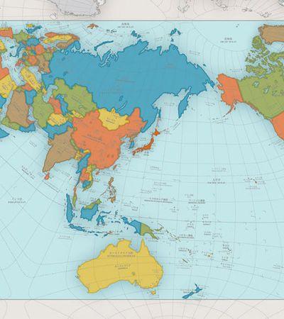 Mapa mostra o mundo como ele realmente é sem as distorções usuais