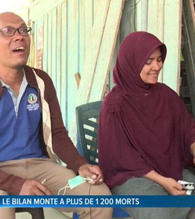 O emocionante reencontro deste casal separado pelo tsunami na Indonésia